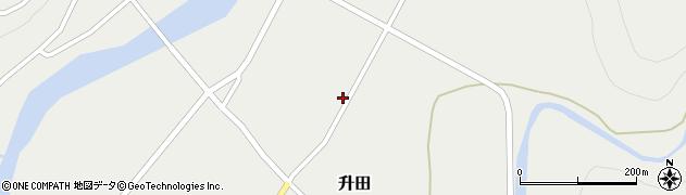 山形県酒田市升田大石22周辺の地図
