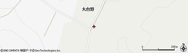 山形県酒田市升田大台野23周辺の地図
