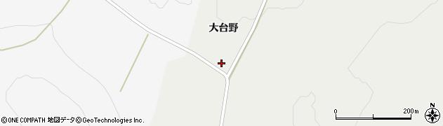 山形県酒田市升田大台野24周辺の地図