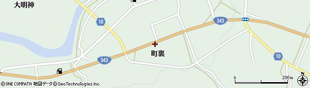 岩手県一関市大東町大原町裏周辺の地図