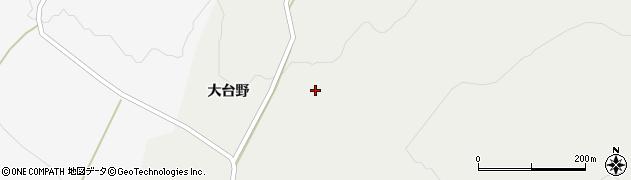 山形県酒田市升田大台野36周辺の地図