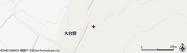 山形県酒田市升田大台野38周辺の地図