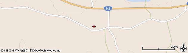 岩手県一関市大東町渋民鳥喰周辺の地図