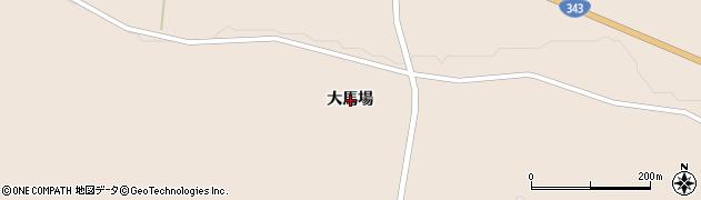 岩手県一関市大東町渋民大馬場周辺の地図