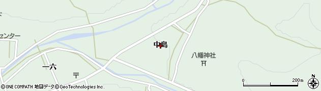 岩手県一関市大東町大原(中島)周辺の地図