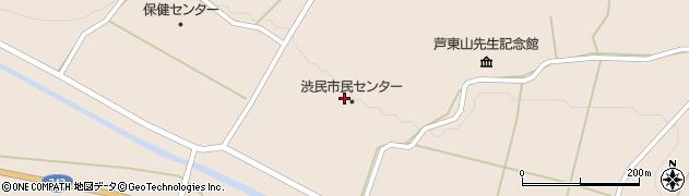 岩手県一関市大東町渋民(小林)周辺の地図