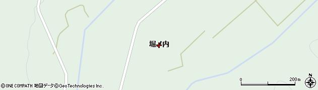 岩手県一関市大東町大原(堀ノ内)周辺の地図