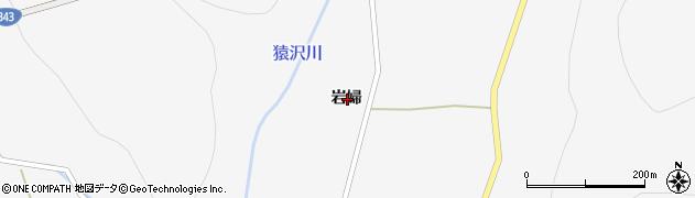 岩手県一関市大東町猿沢岩婦周辺の地図