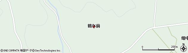 岩手県一関市大東町大原鶴ケ前周辺の地図