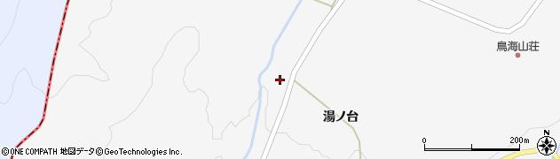 山形県酒田市草津湯ノ台90周辺の地図