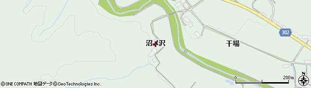 岩手県奥州市前沢(沼ノ沢)周辺の地図