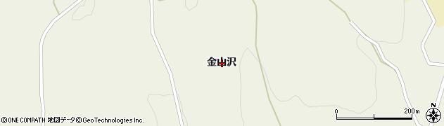 岩手県一関市大東町沖田金山沢周辺の地図