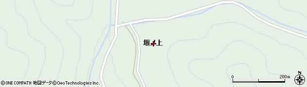 岩手県一関市大東町大原堰ノ上周辺の地図