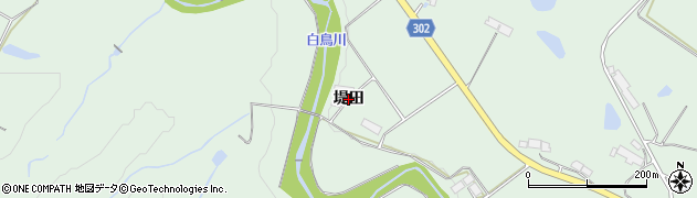 岩手県奥州市前沢(堤田)周辺の地図