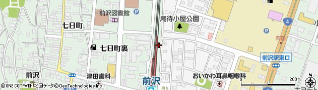 岩手県奥州市前沢(鳥待小屋)周辺の地図