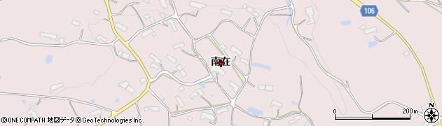 岩手県奥州市前沢生母(南在)周辺の地図