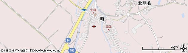 岩手県奥州市前沢生母(町)周辺の地図