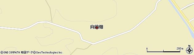 岩手県一関市大東町鳥海向前畑周辺の地図