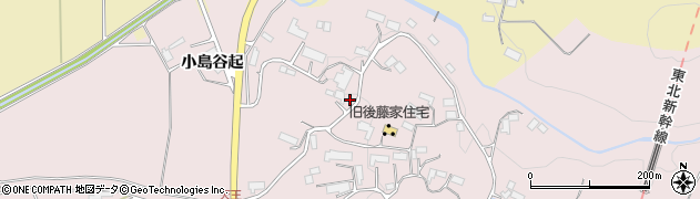 岩手県奥州市前沢生母(天王)周辺の地図