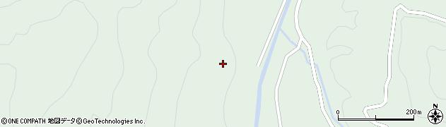 秋田県由利本荘市鳥海町上笹子(葛平)周辺の地図