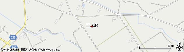 岩手県奥州市胆沢小山(二ノ沢)周辺の地図