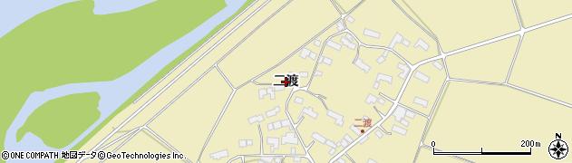 岩手県奥州市水沢黒石町(二渡)周辺の地図