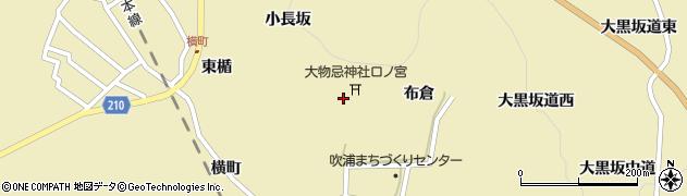 鳥海山大物忌神社周辺の地図