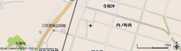 岩手県奥州市前沢古城(田中前)周辺の地図