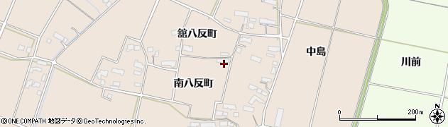 岩手県奥州市前沢古城(南八反町)周辺の地図