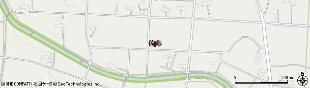 岩手県奥州市胆沢小山(佐布)周辺の地図