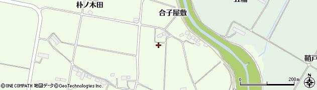 岩手県奥州市前沢白山(下タ町)周辺の地図