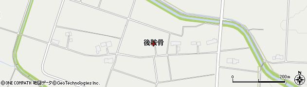 岩手県奥州市胆沢小山(後鞍骨)周辺の地図