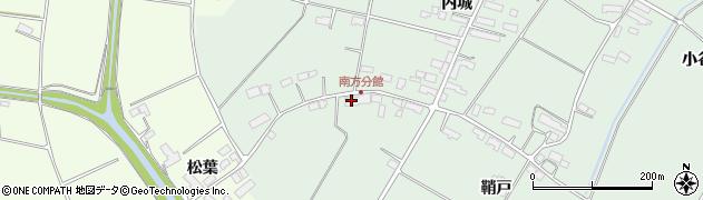 岩手県奥州市水沢姉体町(野中)周辺の地図