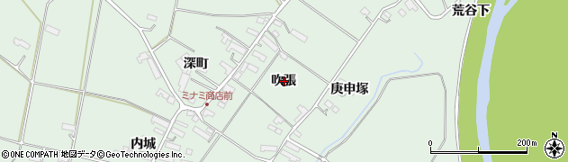 岩手県奥州市水沢姉体町(吹張)周辺の地図