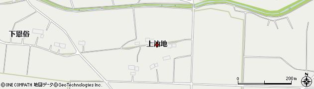 岩手県奥州市胆沢小山(上油地)周辺の地図