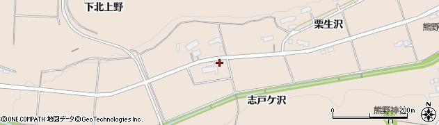 岩手県奥州市前沢古城(志戸ケ沢)周辺の地図