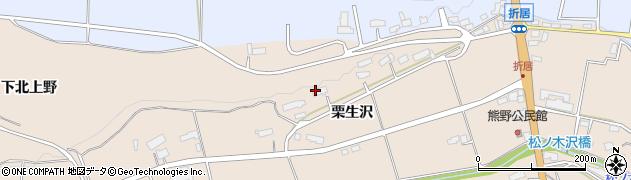 岩手県奥州市前沢古城(下北上野)周辺の地図