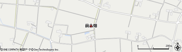 岩手県奥州市胆沢小山(前大畑)周辺の地図