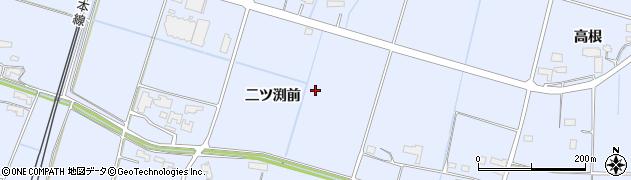 岩手県奥州市水沢真城(二ツ渕前)周辺の地図