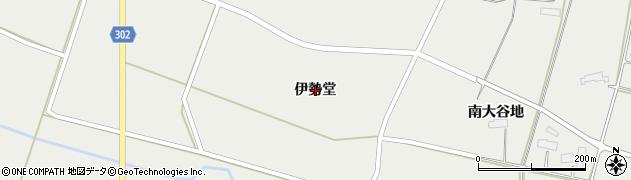 岩手県奥州市胆沢小山(伊勢堂)周辺の地図