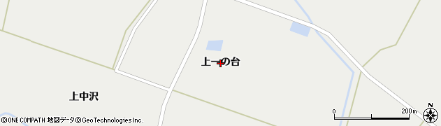 岩手県奥州市胆沢小山(上一の台)周辺の地図