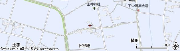 岩手県奥州市水沢真城(西田)周辺の地図
