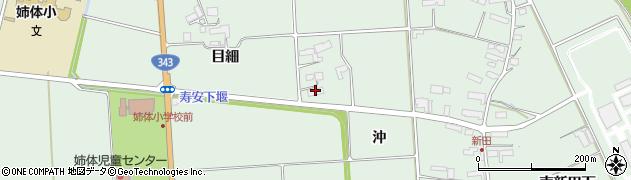 岩手県奥州市水沢姉体町(沖)周辺の地図