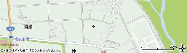 岩手県奥州市水沢姉体町(南白山)周辺の地図