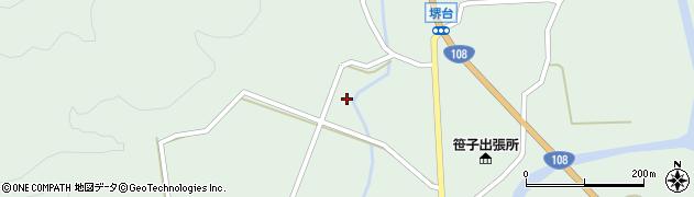 秋田県由利本荘市鳥海町上笹子(目渡)周辺の地図