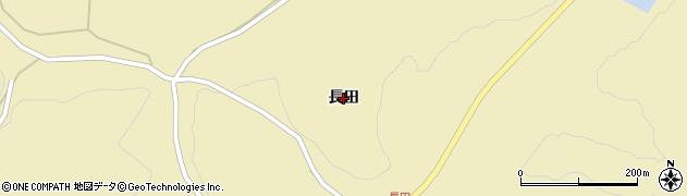 岩手県奥州市水沢黒石町(長田)周辺の地図