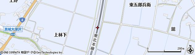 岩手県奥州市水沢真城(寺道)周辺の地図