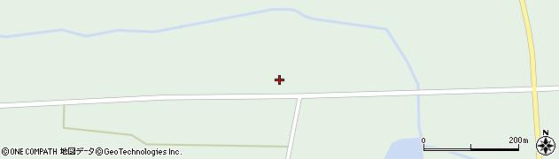 岩手県奥州市胆沢若柳(中横沢原)周辺の地図