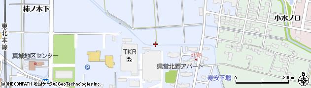 岩手県奥州市水沢真城(向田)周辺の地図