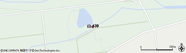 岩手県奥州市胆沢若柳(山ノ神)周辺の地図